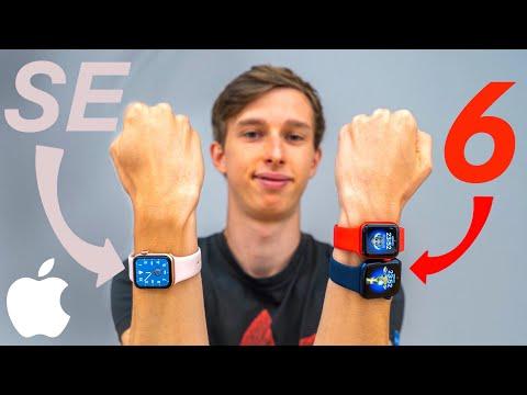 Apple Watch 6 & SE - jaké si vybrat a co je nového? // Recenze CZ