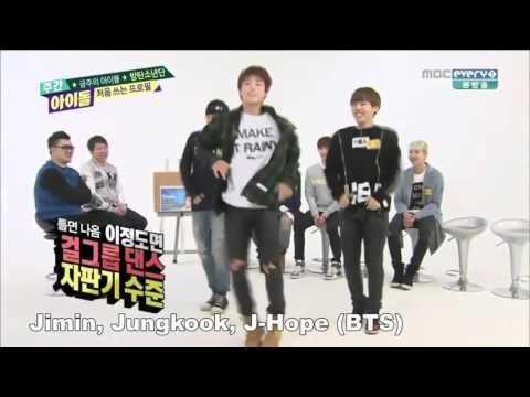 kpop idols imitate apink s no no no