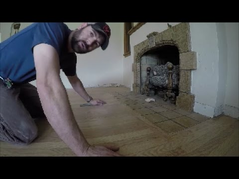 How to Refinish Old Hardwood Floors By Yourself | THE HANDYMAN