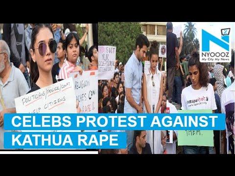 Aditi Rao, Vidya Malvade, celebs protest against Kathua rape