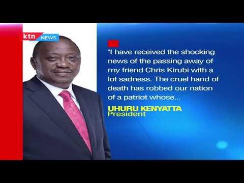 Business leaders eulogize Chris Kirubi