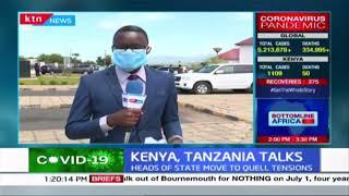 Kenya-Tanzania talks: CS Macharia arrives in Namanga to meet Tanzania\'s Transport Minister
