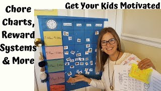 Chore Charts, Reward Systems, Helping Kids Form Good Habits And Routines - Parenting Tips