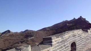Video : China : The view high above the valley, SiMaTai Great Wall