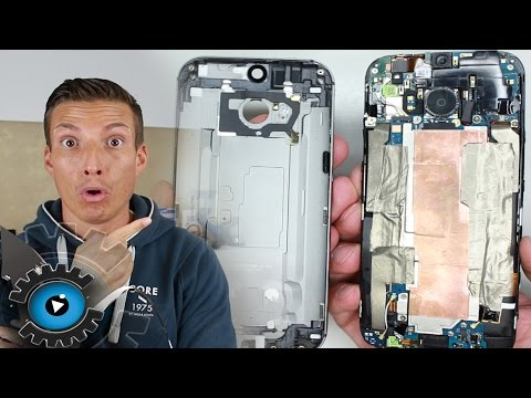HTC One M8 Backcover Wechseln Tauschen unter 2 Minuten Reparieren [Deutsch] Replacement