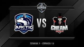 ARCTIC GAMING MX VS CREAM ESPORTS | Jornada 13 | División de Honor 2019 - Apertura
