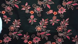 Batik Banyumas Kombinasi Tulis Motif Kembang Mlinjo