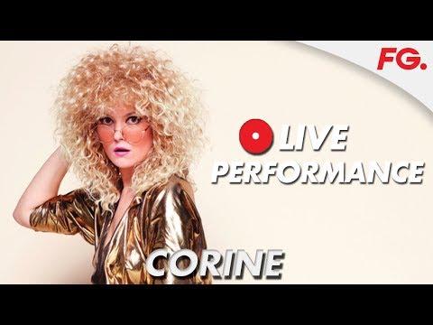 CORINE LIVE | Un Air de Fête | RADIO FG