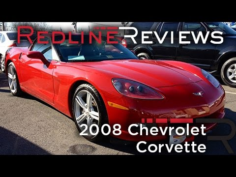 2008 Chevrolet Corvette Review, Walkaround, Exhaust, Test Drive