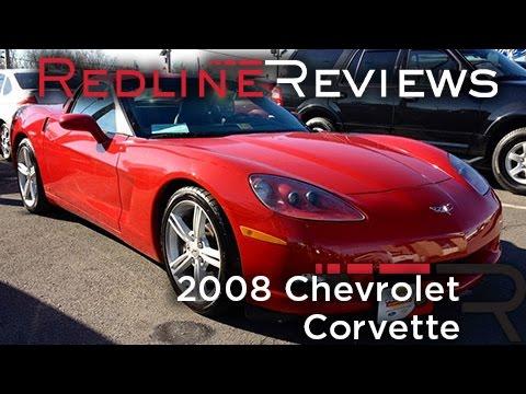 2008 Chevrolet Corvette Review, Walkaround, Exhaust, Test Drive
