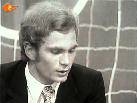 Uli Hoeneß in schwarz-weiß: Sein erster Auftritt im aktuellen sportstudio 1971