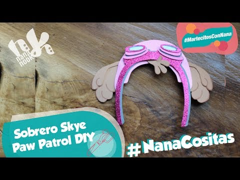Sombrero de Skye Paw Patrol
