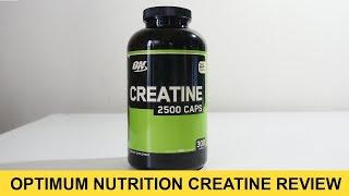 Optimum Nutrition Creatine 2500 Caps Review