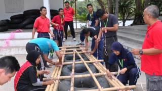 preview picture of video 'Kursus Asas Pegawai Keselamatan UTM Johor Bahru Di Kem Lambaian Danau Jasin Melaka.wmv'