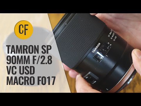 Tamron SP 90mm f/2.8 VC USD Macro F017 lens review with samples (Full-frame & APS-C)