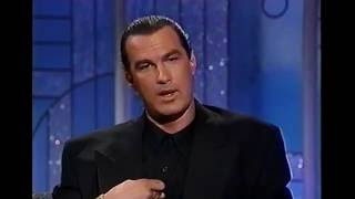 STEVEN SEAGAL SETS the RECORD STRAIGHT on 'ARSENIO'