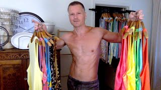 YOUTUBE WARDROBE TRY ON HAUL & MENS TANK TOP COLLECTION FROM URBAN PLANET CANADA