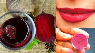 ബീറ്റ്റൂട്ടിലെ ഈ രഹസ്യം ആരും ഒരിക്കലും  അറിയാതെ പോവല്ലേ | Beetroot Lip Balm For Dry And Black Lips