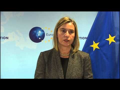 Energy Council: Joint Press Point by HR/VP Federica MOGHERINI and John KERRY, US Secretary of State