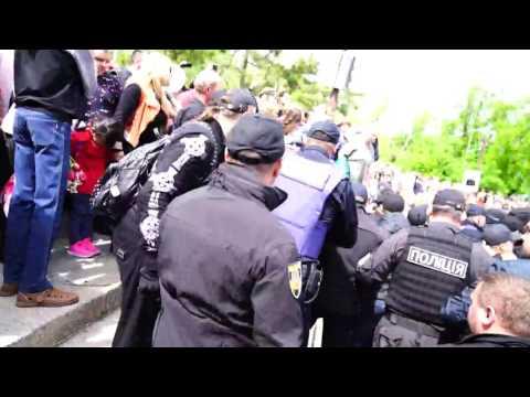 Ukraine: Randale in Odessa und Nikolajew zum Siegestag [mit Videos aus YouTube]