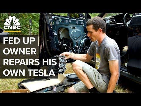 Zvládnete si Teslu Model S opravit sami doma? - Svět Elona Muska