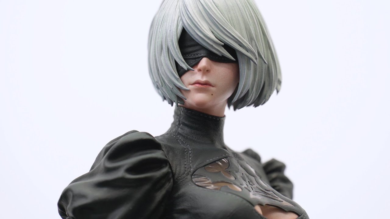Video SQUARE ENIX MASTERLINE NIER:AUTOMATA 1/4 SCALE STATUE - 2B (YORHA NO. 2 TYPE B)