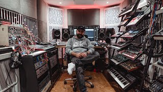 East End Dubs' custom studio is a cutting-edge synth paradise