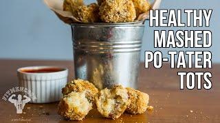 Healthy Mashed Po-Tater Tots / Croquetas de Puré de Papas