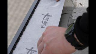 Montaż profilu Renoplast K102 oraz K35 na balkonie i tarasie