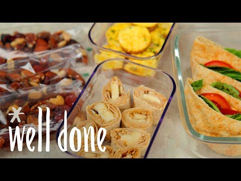 How To Make 4 Easy Travel Snacks That Are Ready To Hit The Road | Recipe | Well Done