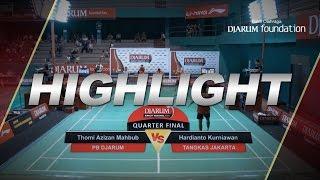 Gambar cover Thomi Azizan Mahbub (Djarum Kudus) VS Hardianto Kurniawan (Tangkas Jakarta)