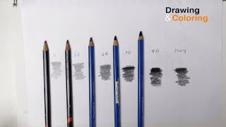 Pencil Hardness : The Only 4 Pencils You Need