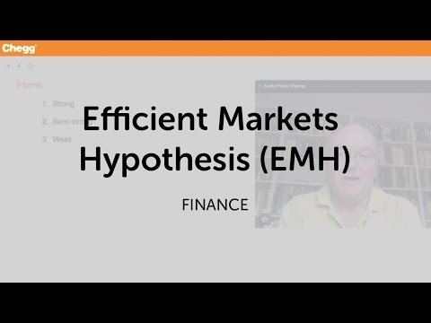 Emh market theory forex