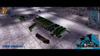 Spřátelený konvoj HG logistics. 01.01.2020