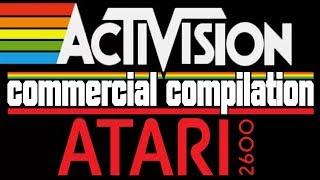 Сборка рекламы Activision для Atari 2600 (RAMBO) / Activision  Atari 2600 commercial compilation