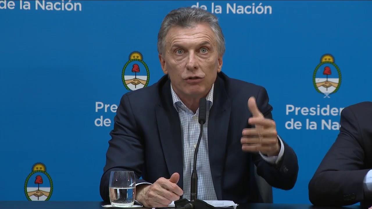 Macri tras la suba del dólar responsabiliza a la sociedad y el resultado de las Paso