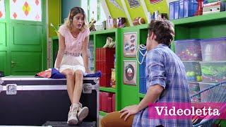 Violetta 3 English: Vilu and Leon talk Ep.62