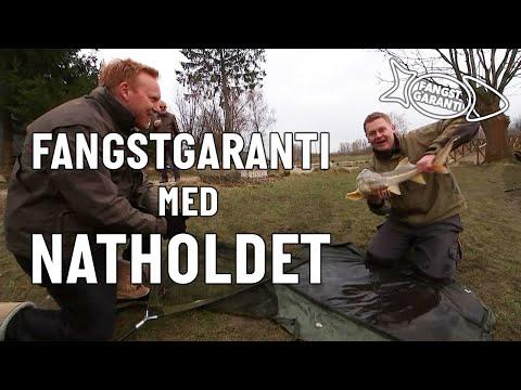 Størfiskeri med Fangstgaranti og Natholdet i Poppelsøen