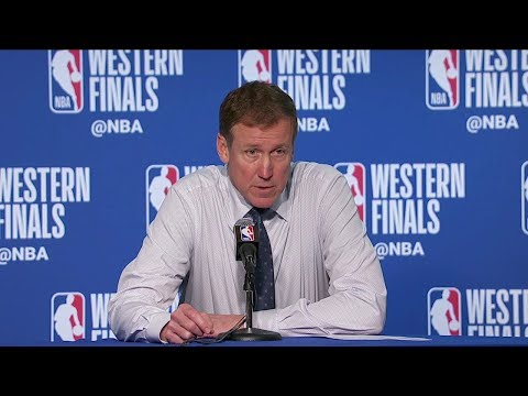 Terry Stotts Postgame Interview - Game 2 | Trail Blazers vs Warriors | 2019 NBA Playoffs