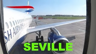 THE BEAUTIFUL SOUTH: Gatwick South to Seville with BA, BUSINESS CLASS flight review