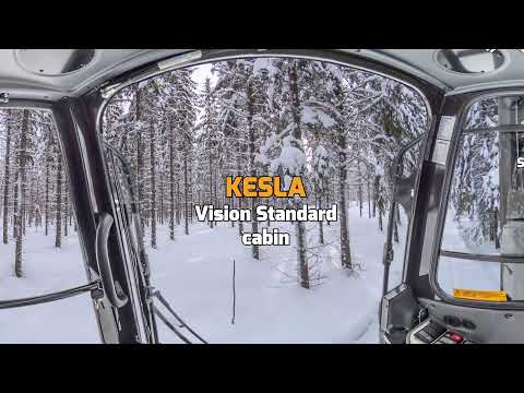 KESLA Vision Standard cabin 360 degrees from inside ENG