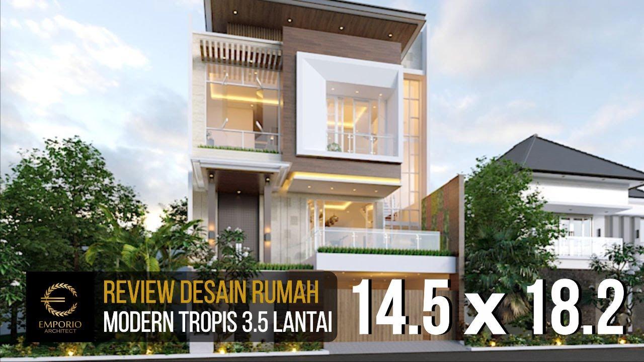 Video 3D Mrs. Meimei Modern House 3.5 Floors Design - Jakarta