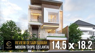 Video Mrs. Meimei Modern House 3.5 Floors Design - Jakarta