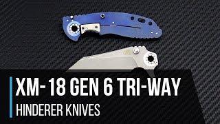 Hinderer GEN 6 XM-18 Tri-Way Pivot Overview