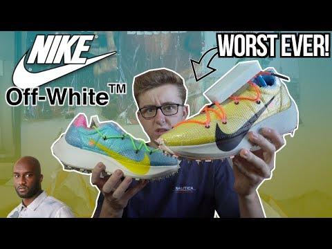 THE WORST Nike x Off-White Sneaker Ever Made! | OFF-WHITE VAPOR STREET IN HAND REVIEW!