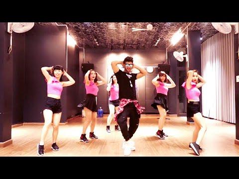 ZUMBA COMO NO - Akon - ft. Becky G   Easy Zumba Steps   Vishal Choreography