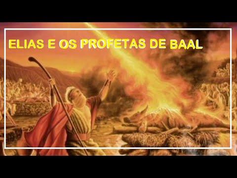 "O Profeta Elias Enfrentando os Falsos Profetas.  ""prophetes elias facing the false prophets"""