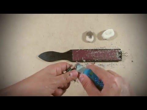 Cómo hacer una paleta con tiras de lija