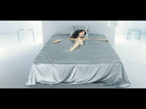 Sleeping on water bed