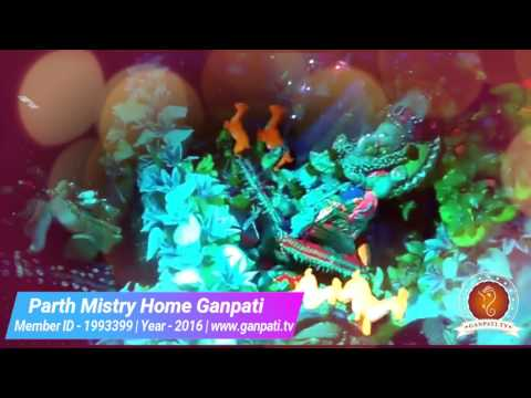 Parth Mistry Home Ganpati Decoration Video